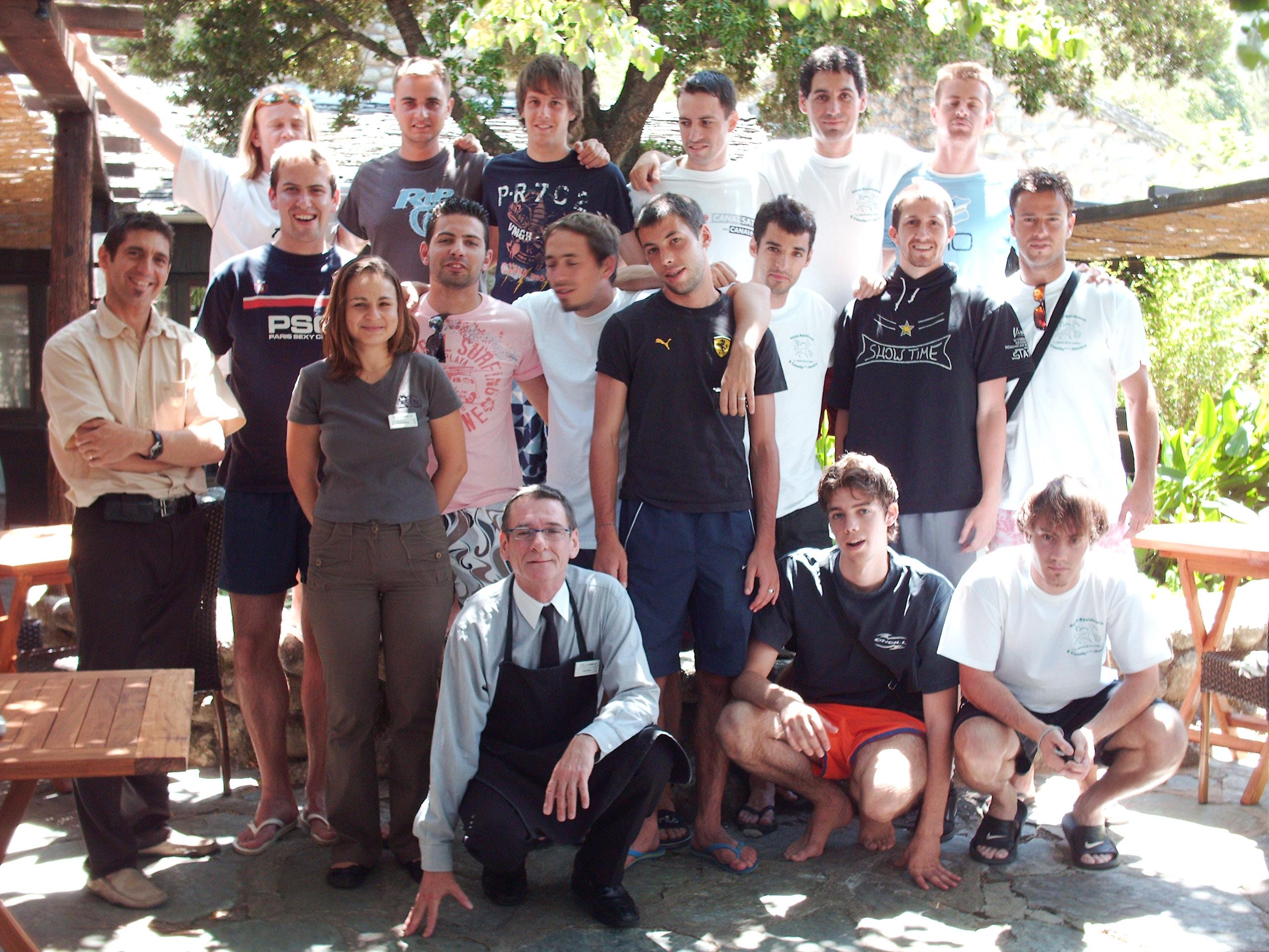 2007 stage groupe France tennis-ballon Corse