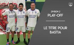 SC Bastia champion de france de d2 futnet 2020